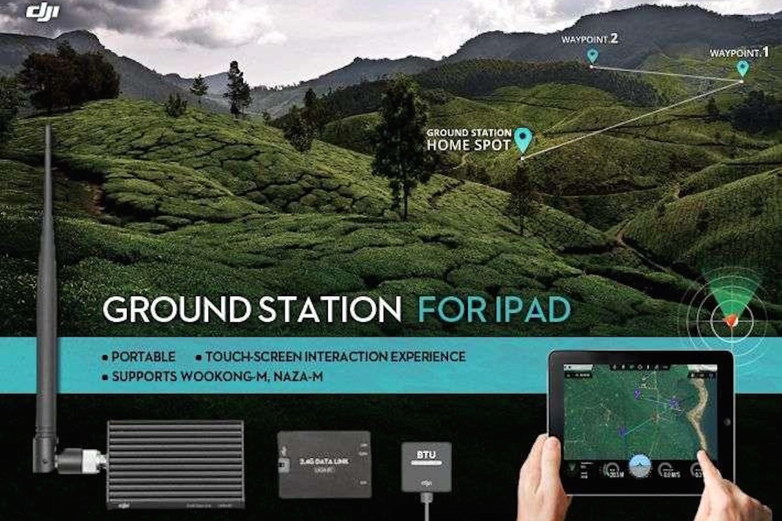 DJI iPad Ground Station