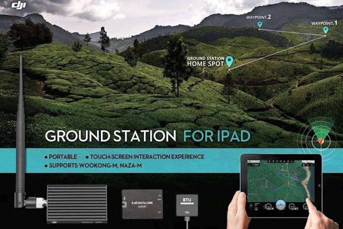 DJI iPad Ground Station