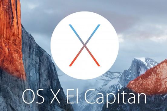 Mac OS X El Capitan 10.11