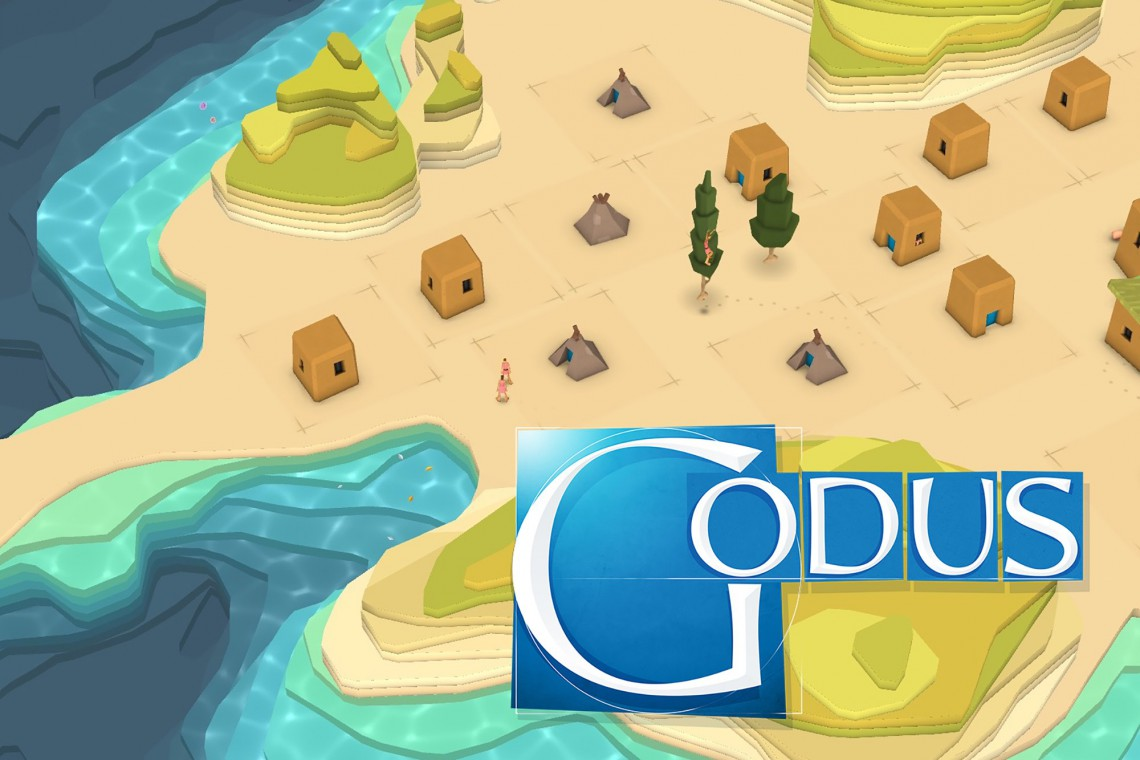 Godus: A god simulation game