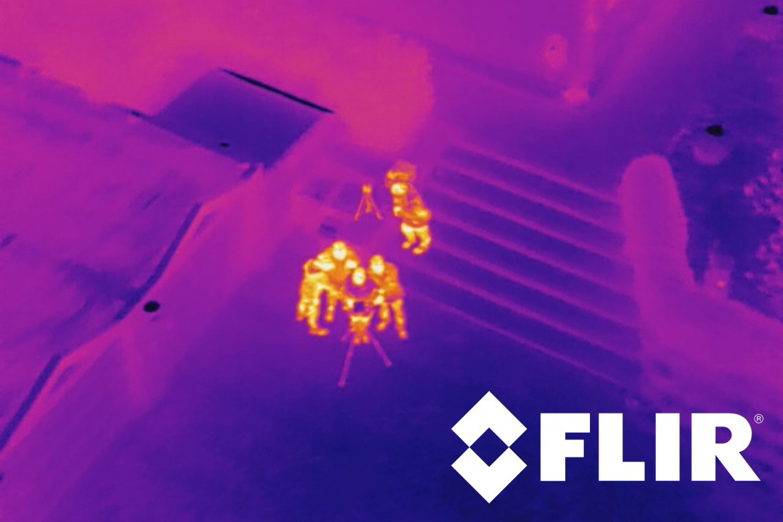 FLIR Vue Pro 640 19mm thermal imaging camera