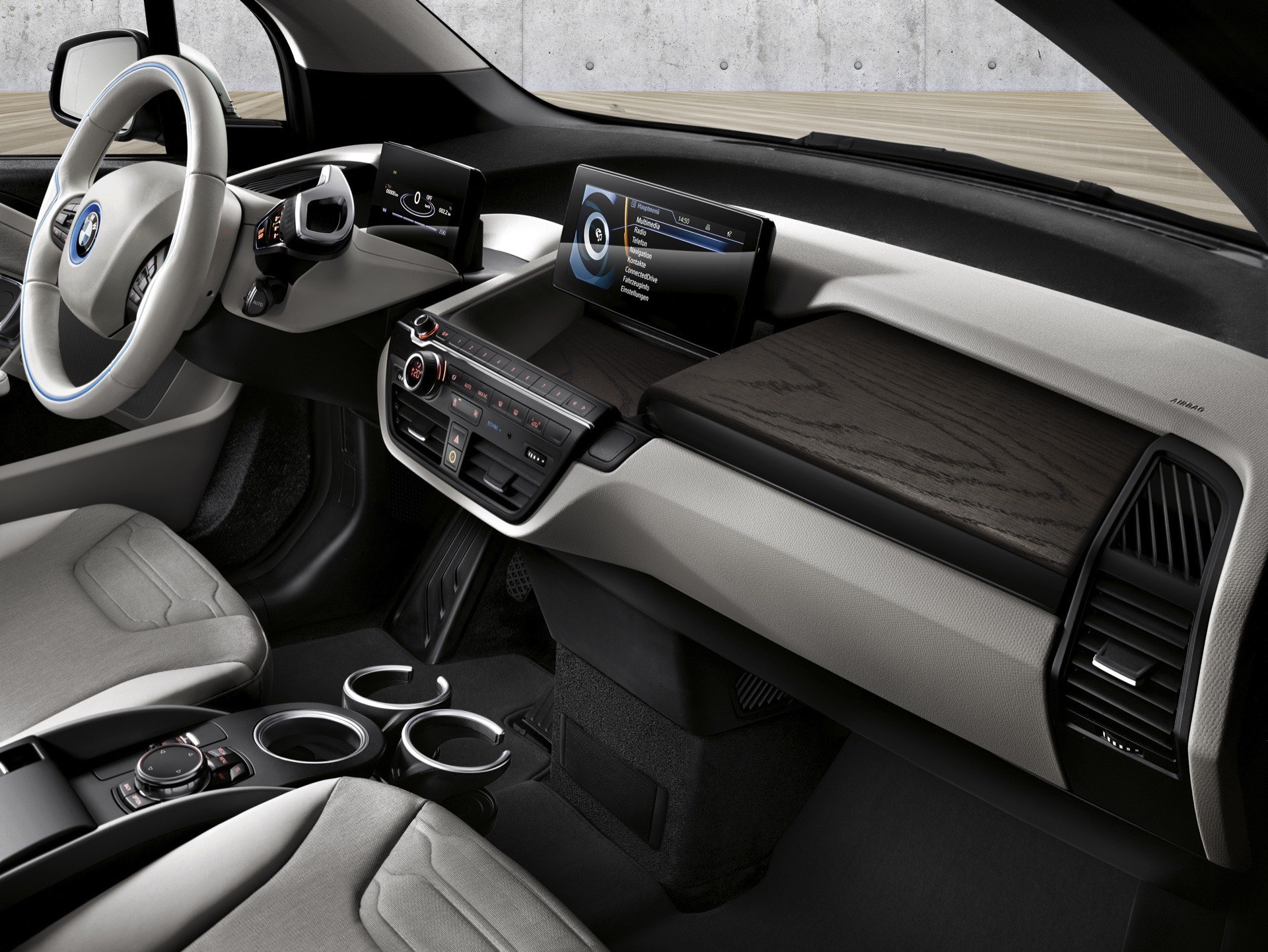 BMW i3 updated Loft interior