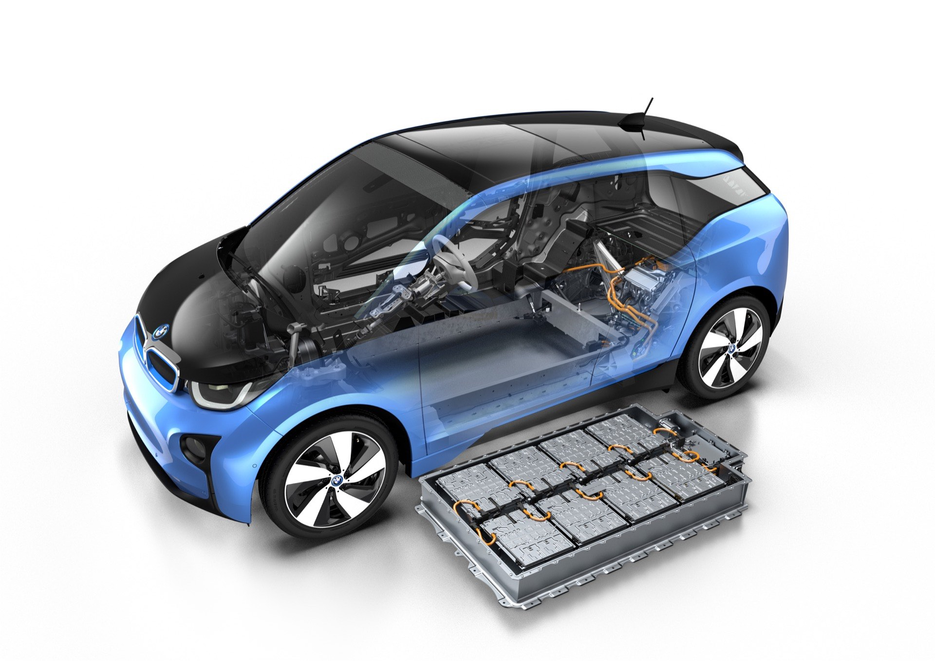 BMW i3 New Battery Update with 94Ah for More Range