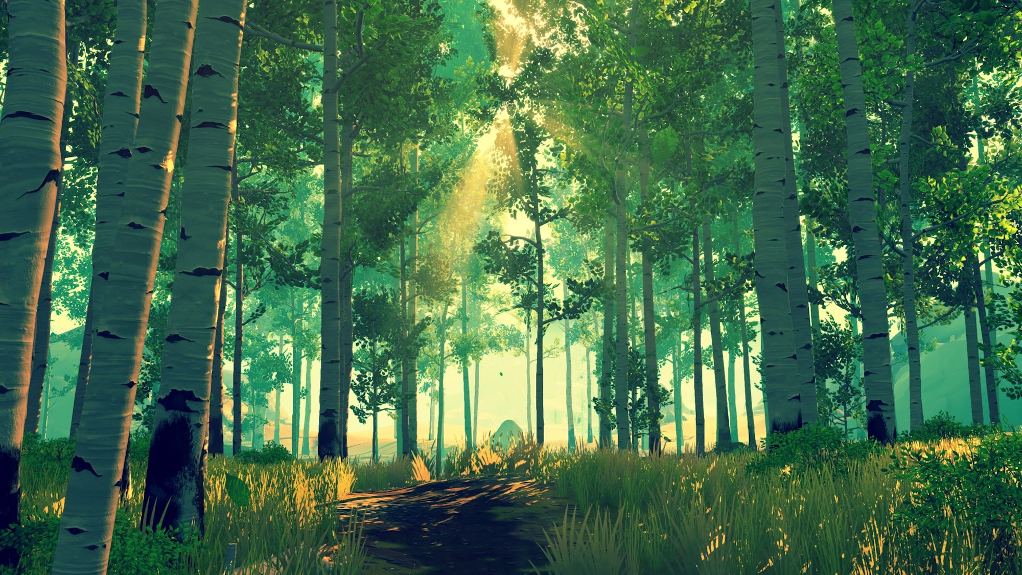Firewatch Screenshot Forest
