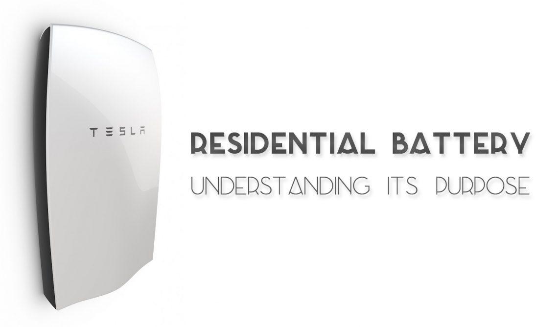 Residential Battery Tesla Powerwall Header