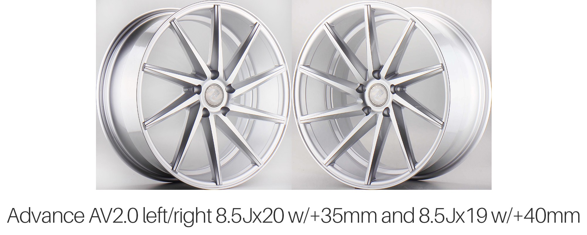 Advance AV2.0 Directional Wheels for Tesla Model S