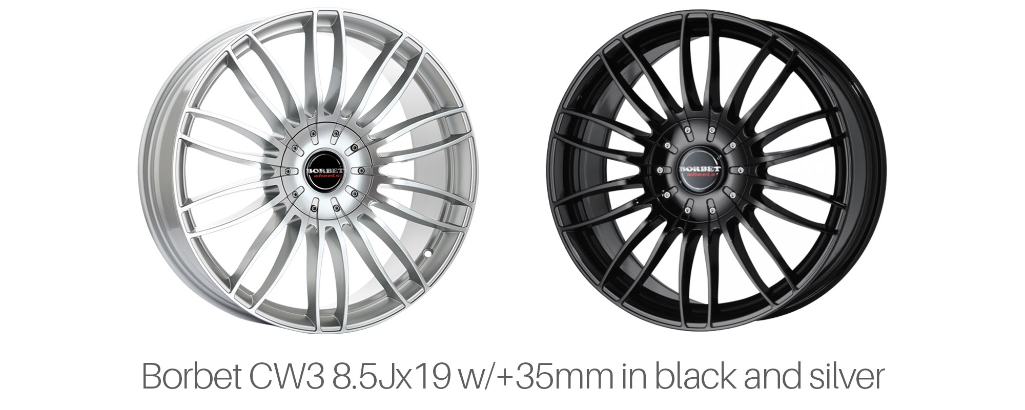 Borbet CW3 Wheels for Tesla Model S