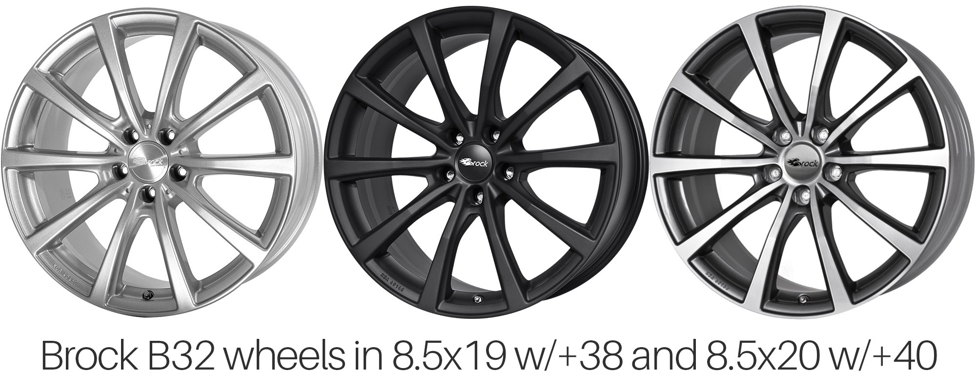 Brock B32 Wheels for Tesla Model S