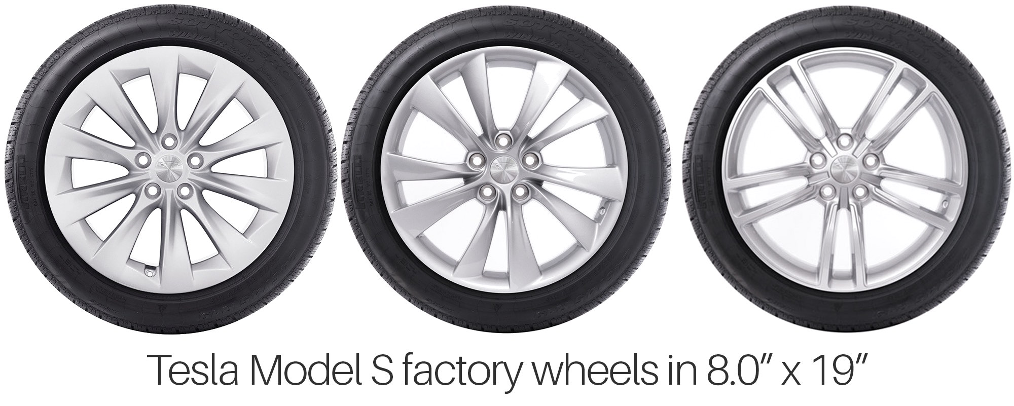 "Tesla Model S 19"" Factory Wheels"