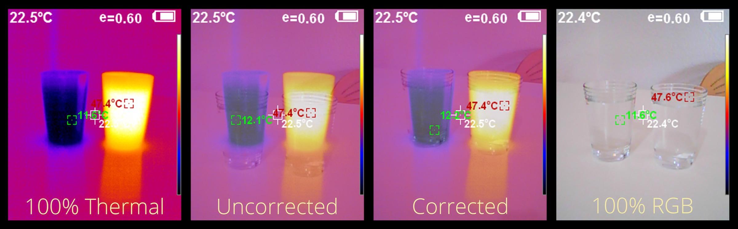 PerfectPrime IR-0019 RGB Image Overlay Positioning
